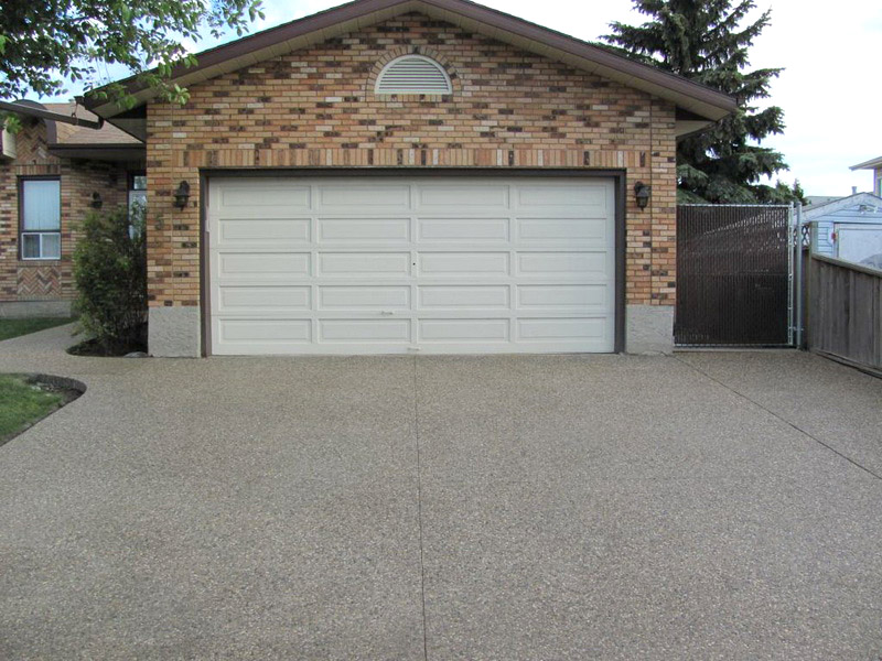 Exposed Aggregate Sherwood Park Next Level Concrete Ltd
