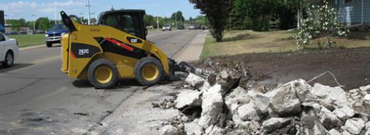 Concrete Breakout Removal Edmonton
